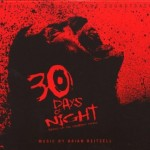 A picture of the 30 Days of Night soundtrack cover.