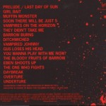 This is a picture of the back side of the 30 Days of Night soundtrack cover.