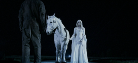 Rob Zombies Halloween 2 - Sherri Moon Zombie with White Horse