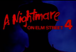 A Nightmare On Elm St. 4: The Dream Master 1988 – Review