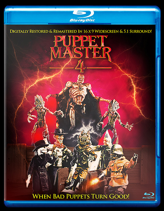 puppet master 4 bluray front
