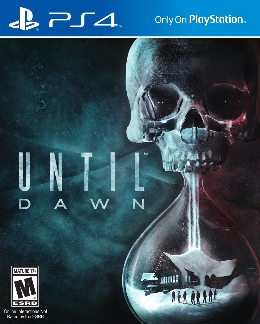 until dawn video game cover for playstation 4
