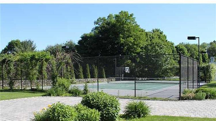 Nothing says shock rocker like a tennis court at your mansion.