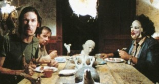 The famous dinner scene from the original Texas Chainsaw Massacre